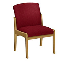 Weston Armless Fabric Guest Chair, CH01573