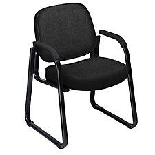 Plush Sled Base Guest Chair, CH00471