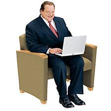 Savoy Bariatric Guest Chair, CH04435