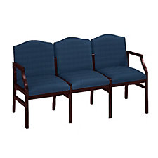 Traditional Three Seater in Heavy-Duty Upholstery, CH03479