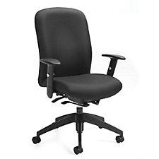 TruForm Fabric High Back Computer Chair, CH51712