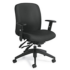 TruForm Fabric Medium Back Computer Chair, CH51713