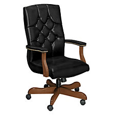 Traditional High Back Office Chair, CH50154