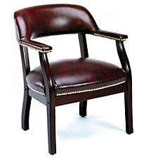 Vinyl Traditional Captain's Chair, CH00235