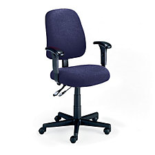 Fabric Mid-Back Ergonomic Chair, CH00448