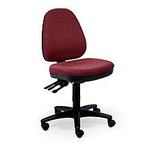 Fabric Armless Ergonomic Chair, CH01745