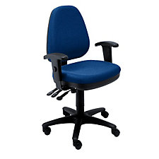 Fabric Ergonomic chair with Adjustable Arms, CH01746