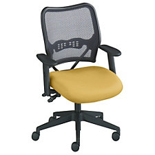 Capitol Mesh and Fabric Mid-Back Ergonomic Chair, CH04490