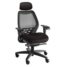 SXO Mesh Mid-Back Ergonomic Chair with Headrest, CH04063