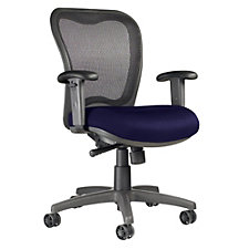 LXO Mesh and Fabric Mid Back Ergonomic Chair, CH04065