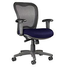 LXO Mesh and Fabric Mid Back Ergonomic Chair, CH04065
