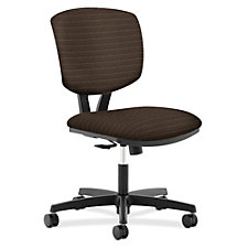 HON Volt Armless Fabric Task Chair, CH50465