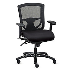 Mesh Back 24/7 Ergonomic Chair with Fabric Seat , CH50715
