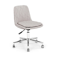Spin Armless Fabric Swivel Chair, CH51917