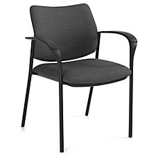 Sidero Fabric Stack Chair with Arms, CH51718