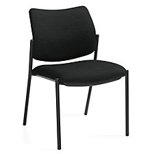 Sidero Armless Fabric Stack Chair, CH51719