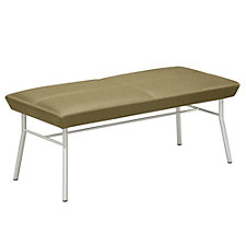 Uptown Two Seat Fabric Bench, CH04713