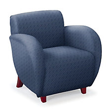 Curve Fabric Club Chair, CH04675