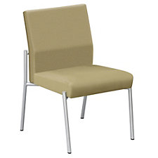Uptown Armless Guest Chair in Premium Upholstery, CH04873