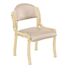 Bentwood Armless Stack Chair in Polyurethane, CH51790