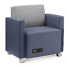 Compass Lounge Chair with Arms, CH51929