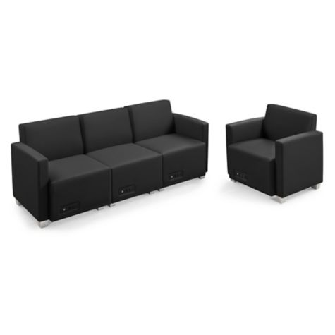Compass Sofa And Armchair