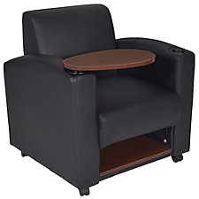 Nova Vinyl Tablet Arm Guest Chair, CH51434