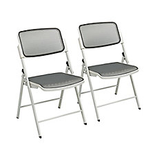 ProLine Deluxe Mesh Folding Chair - Set of 2, CH51099