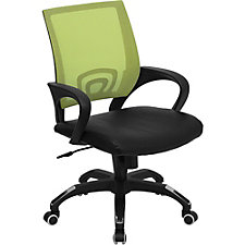 Southport Mesh and Bonded Leather Task Chair, CH51278