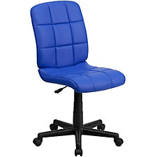 Simmons Vinyl Armless Quilted Cushion Task Chair, CH51284