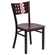 Jackson Square Punch Back Cafe Chair with Wood Seat, CH51500