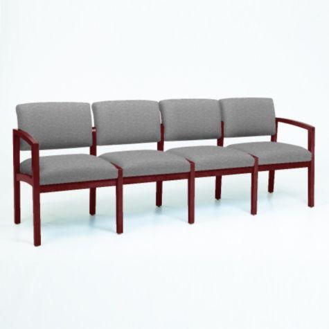 Lenox Four Seater In Designer Upholstery Officechairs Com