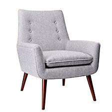 Addison Fabric Guest Chair with Wood Legs, CH51613