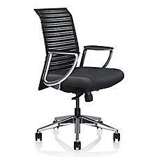 Zip Fabric Modern Conference Chair, CH50711