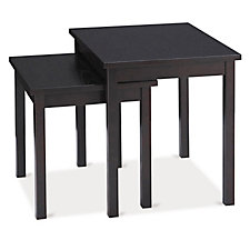 Main Street Wood Veneer Nesting Tables, CH50180