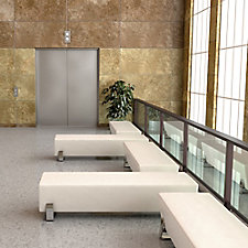 Axis Vinyl Five Bench Lobby Set, CH51836