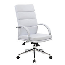 Rousseau High Back Vinyl Executive Chair, CH04838