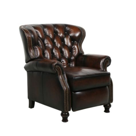 Presidential Ii Leather Recliner By Barcalounger