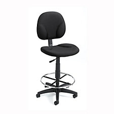 Fabric Armless Drafting Stool, CH00747
