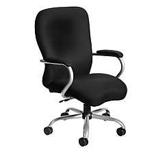 Big & Tall Executive Chair in Black Fabric, CH02625