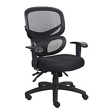 Hydra Mesh and Fabric High Back Ergonomic Chair, CH50053