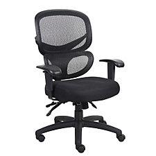 Hydra Mesh and Fabric High Back Ergonomic Chair, CH50053