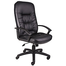 Burke High Back Bonded Leather Executive Chair, CH02821
