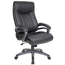Abrams High Back Bonded Leather Executive Chair, CH04814