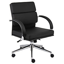 Rousseau Modern Vinyl Desk Chair, CH04839