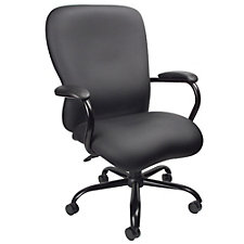 Big and Tall Faux Leather Executive Chair, CH51883