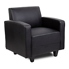 Tyler Faux Leather Arm Chair, CH50702