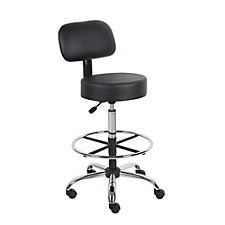 Medical Vinyl Armless Stool with Foot Ring, CH50985