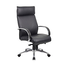 Peck High Back Conference Chair with Aluminum Arms, CH51227