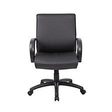 Peck Mid Back Office Chair with Polyurethane Arms, CH51230